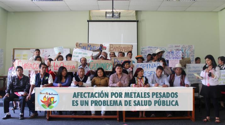 Foto: Mesa Técnica de Salud Ambiental y Humana