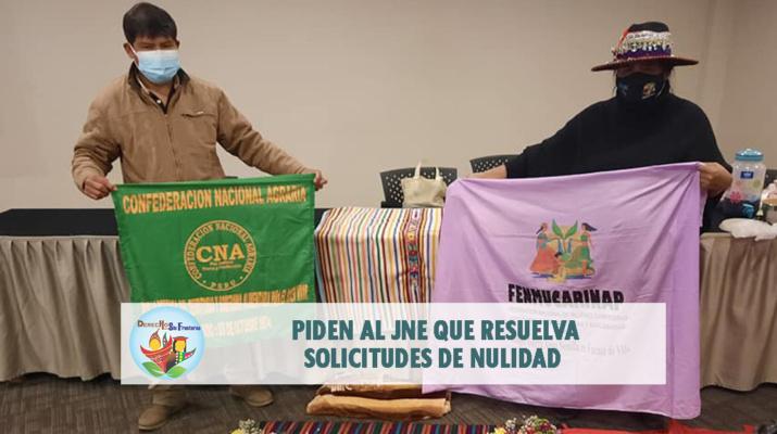 Crédito: Confederación Nacional Agraria